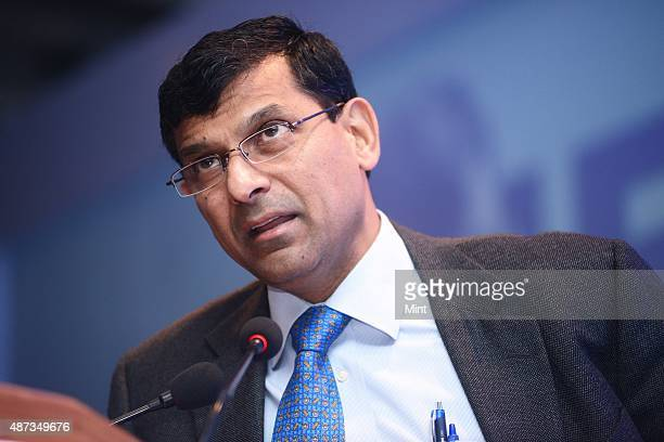 Raghuram Rajan Governor of Reserve Bank of India at Economic conclave on November 12 2013 in New Delhi India