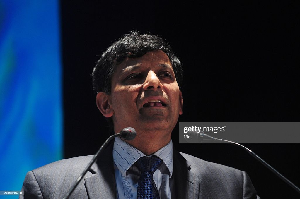 Raghuram Rajan, Governor of Reserve Bank of India, speaking at Dipak Banerjee Memorial Lecture in Derozio Hall, Presidency University on December 10, 2015 in Kolkata, India.