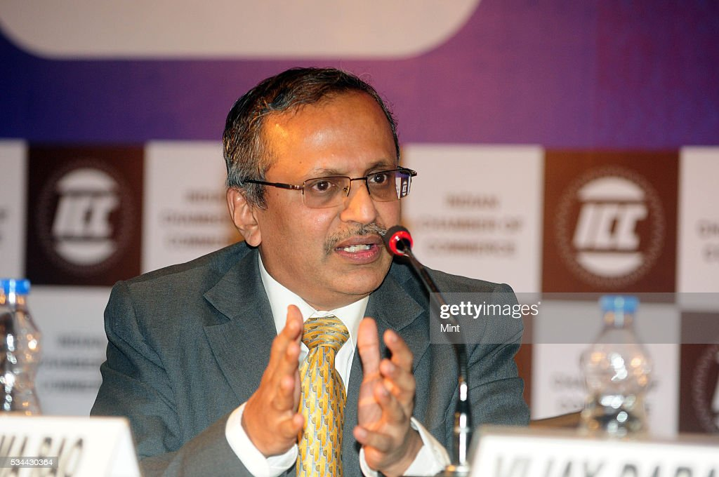 R Raghuttama Rao, MD of ICRA Management Consulting Services Ltd., at ICC Banking Summit held in Hyatt on December 17, 2015 in Kolkata, India.