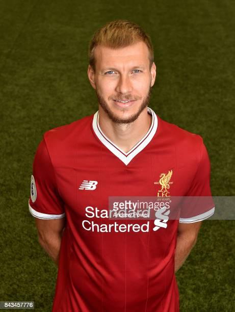 Ragnar Klavan of Liverpool at Melwood Training Ground on September 1 2017 in Liverpool England