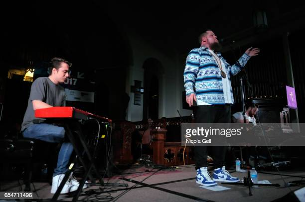 Rag'n'Bone Man Ben Jackson Cook and Rich Hughes perform onstage at the Communion music showcase during 2017 SXSW Conference and Festivals at St...