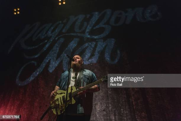 Rag'n'Bone Man performs at O2 Shepherd's Bush Empire on April 19 2017 in London England