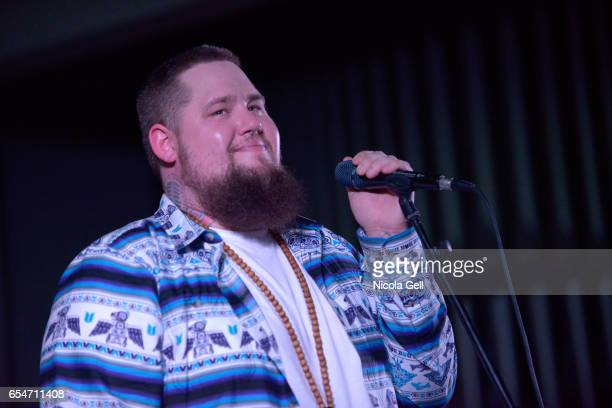 Rag'n'Bone Man performs onstage at the Communion music showcase during 2017 SXSW Conference and Festivals at St David's Historic Sanctuary on March...
