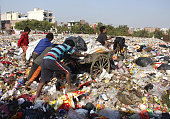 IND: Ragpickers Working At Dumping Ground
