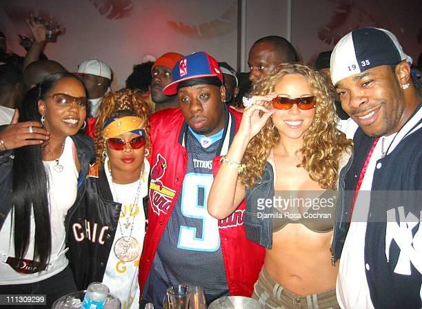 Rah Digga Da Brat Rampage Mariah Carey and Busta Rhymes