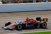 Rahal Letterman Racing Team Argent driver Danica Patrick races through turn 1 in her car in the 90th Indianapolis 500 Danica Patrick finishes 8th...