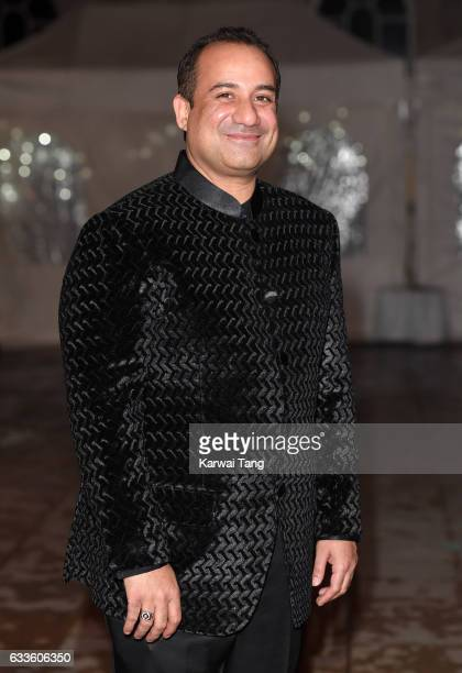Rahat Fateh Ali Khan attends a reception and dinner for supporters of The British Asian Trust on February 2 2017 in London England