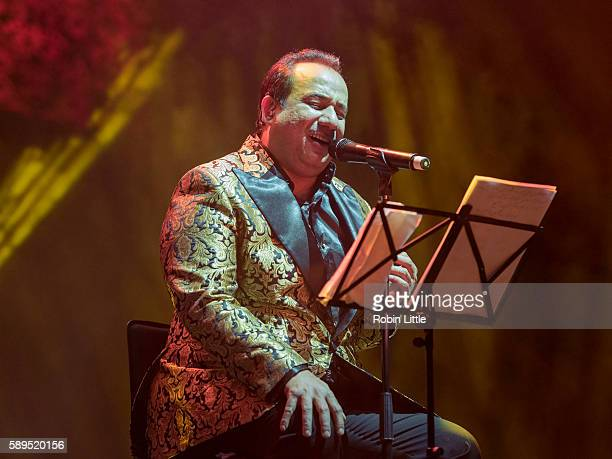 Rahat Fateh Ali Khan performs at The O2 Arena on August 14 2016 in London England
