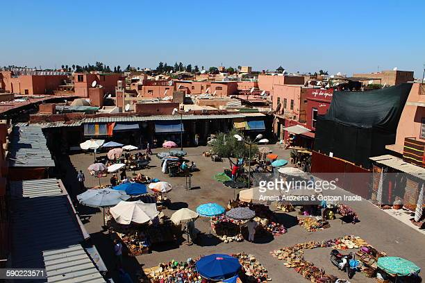 Rahba Kedima or Spice Square in Marrakech