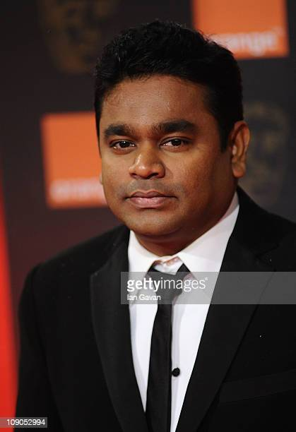 R Rahman arrives for the Orange British Academy Film Awards at The Royal Opera House on February 13 2011 in London England