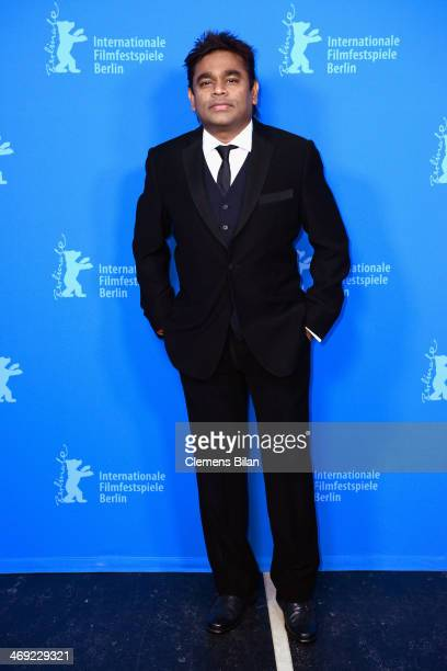 Rahman attends the 'Highway' premiere during 64th Berlinale International Film Festival at Zoo Palast on February 13 2014 in Berlin Germany