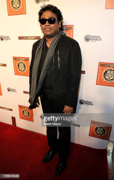 R Rahman celebrates the release of the new CD 'SuperHeavy' at The Double Seven on September 21 2011 in New York City