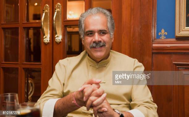 Rahul Bhatia MD and Co founder of India's low cost airline Indigo photographed at The imperial Hotel