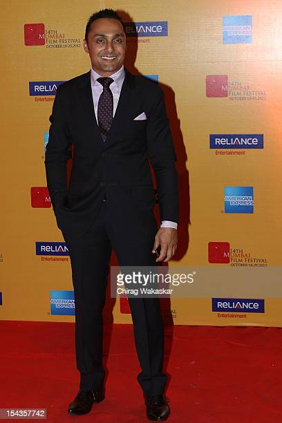 Rahul Bose attends the 14th Mumbai Film Festival Opening Ceremony held at NCPA on October 18 2012 in Mumbai India