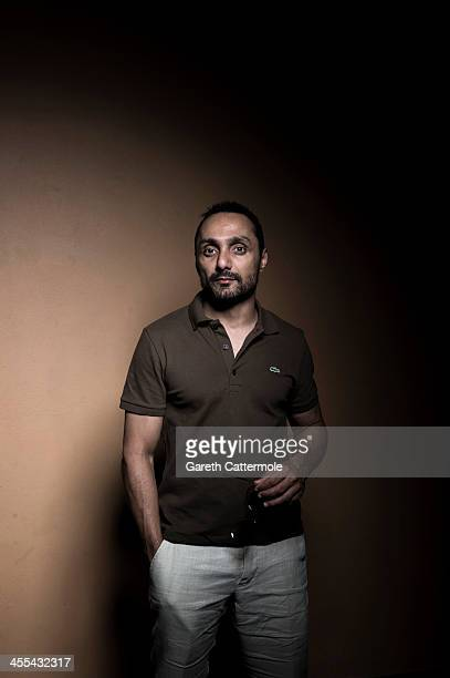 Rahul Bose during a portrait session at the 10th Annual Dubai International Film Festival held at the Madinat Jumeriah Complex on December 12 2013 in...