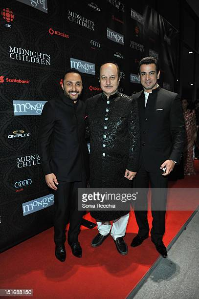 Rahul Bose guest and Ronit Roy 'Midnights' Chlildren' Post Screening Event 2012 Toronto International Film Festival on September 9 2012 in Toronto...