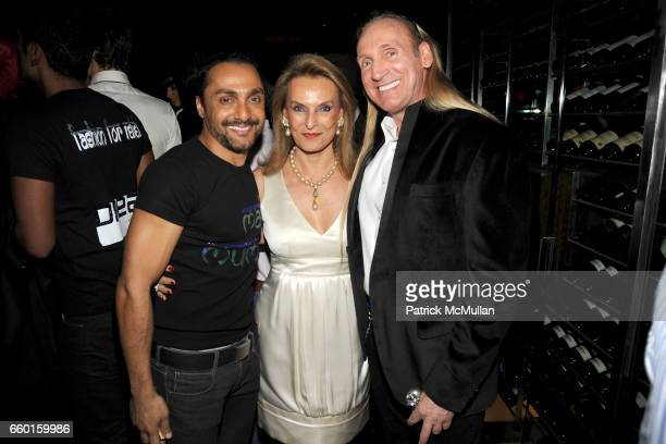 Rahul Bose Princess Francoise Sturdza and Gregory David Roberts attend VIKRAM CHATWAL HOTELS Presents MAI MUMBAI with Fashion For Relief at LAKME...