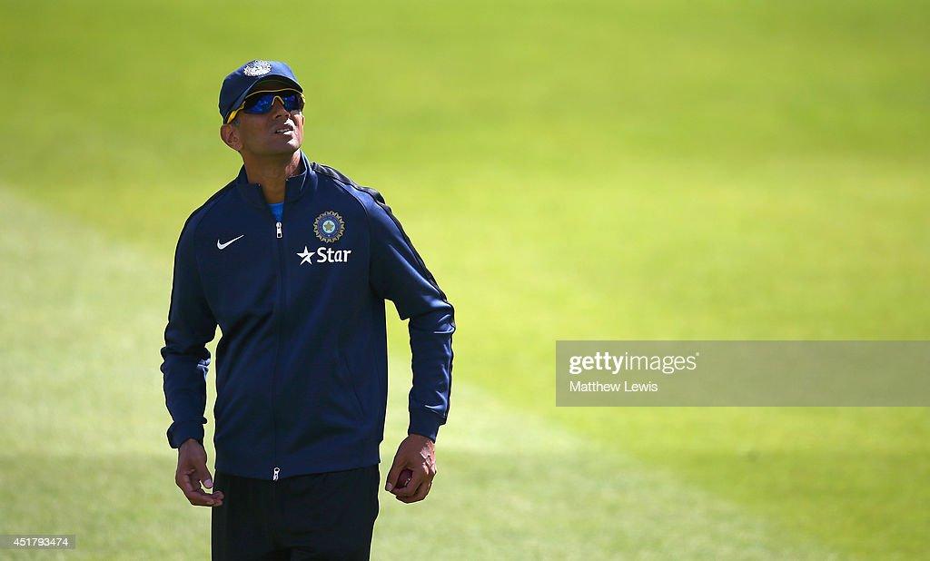 England & India Nets Session : News Photo