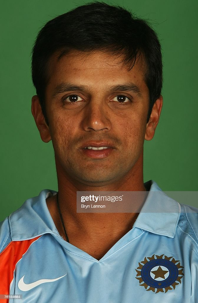 <a gi-track='captionPersonalityLinkClicked' href=/galleries/search?phrase=Rahul+Dravid&family=editorial&specificpeople=211062 ng-click='$event.stopPropagation()'>Rahul Dravid</a> poses during a photo call at the Marriott Hotel on August 17, 2007 in Northampton, England.