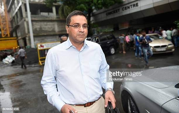 Rahul Johri BCCI CEO coming out of BCCI headquarters after BCCI 87th Annual General Meeting on September 21 2016 in Mumbai India BCCI has announced...