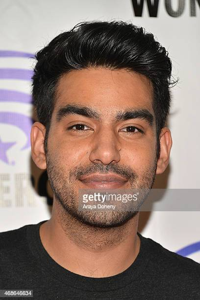 Rahul Kohli attends 'iZombie' Cast and Filmmakers press line at Anaheim Convention Center on April 4 2015 in Anaheim California