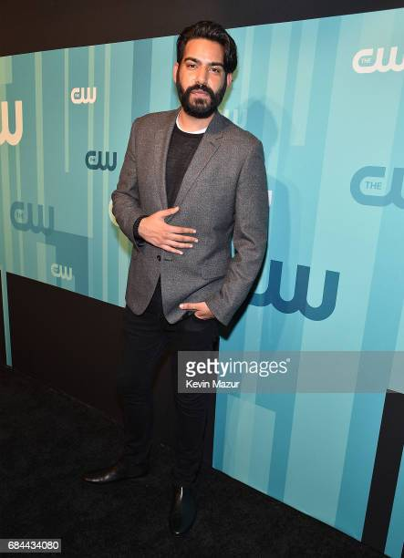 Rahul Kohli attends The CW Network's 2017 Upfront at The London Hotel on May 18 2017 in New York City