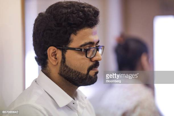 Rahul Lachhani attends a counseling session given by the University of Southern California at the United StatesIndia Education Foundation in Mumbai...