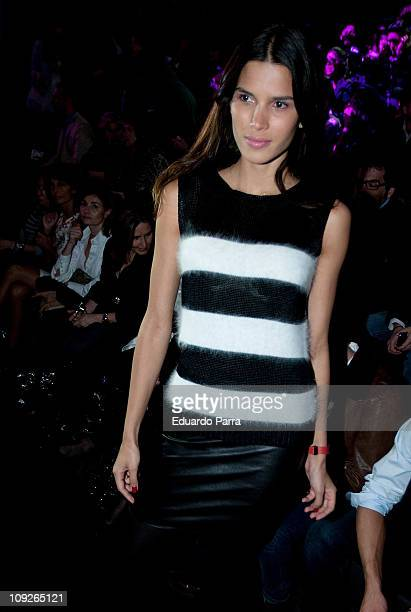 Raica Oliveira attends the Devota Lomba fashion show during the Cibeles Madrid Fashion Week A/W 2011 at Ifema on February 18 2011 in Madrid Spain