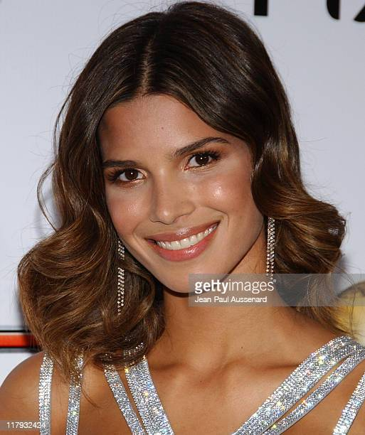 Raica Oliveira during 2007 Sports Illustrated Swimsuit Issue Party Arrivals at Pacific Design Center in Los Angeles California United States