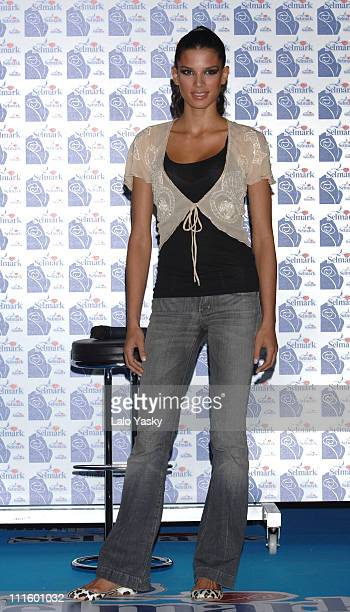 Raica Oliveira during Raica Oliveira Launches Selmark Underwear Collection April 20 2006 at IFEMA in Madrid Spain