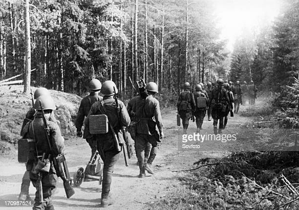 A raid into the enemy's rear during germany's invasion of ussr in july 1941