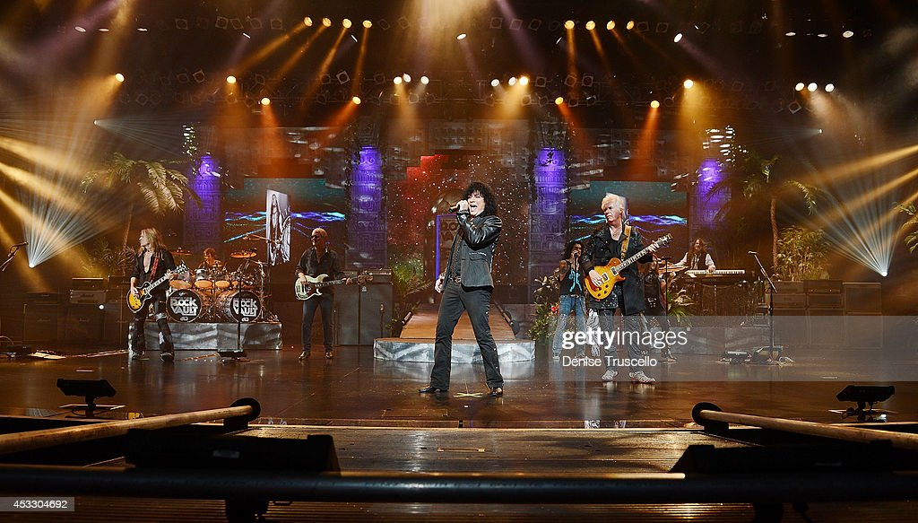 Raiding the Rock Vault performs at the Westgate Las Vegas Resort and Casino on August 6, 2014 in Las Vegas, Nevada.