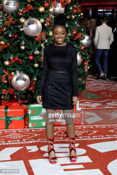 RaiElle Williams arrives at the UK Premiere of 'Daddy's Home 2' at Vue West End on November 16 2017 in London England