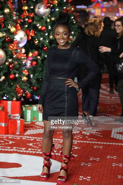 RaiElle Williams attends the UK Premiere of 'Daddy's Home 2' at Vue West End on November 16 2017 in London England