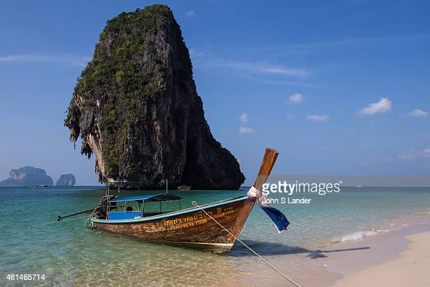 Railay also spelled Rai Leh is a peninsula between the city of Krabi and Ao Nang Beach It is accessible only by boat because of limestone cliffs that...