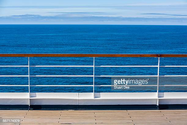 Railing, cruise ship