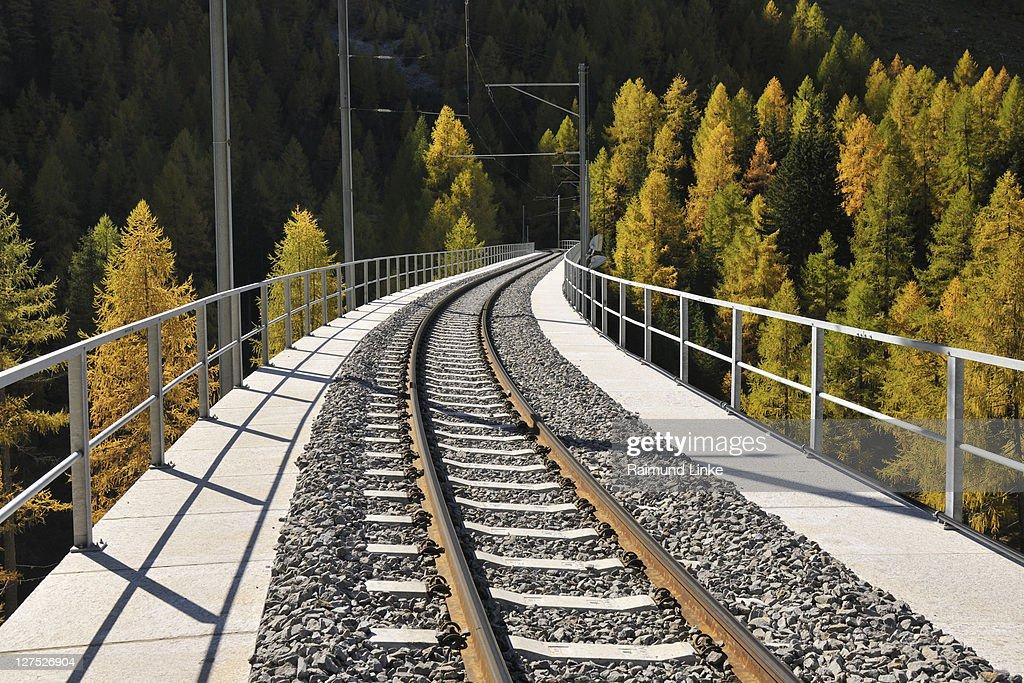 Railroad Bridge : Stock Photo