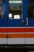 Railroad car door