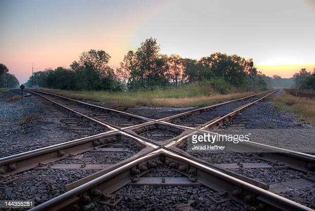Railroad diamond