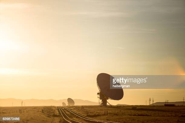 Railroad Running Through Very Large Array