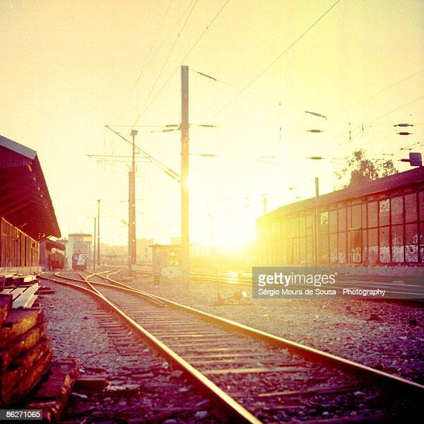 Railroad suburbs.