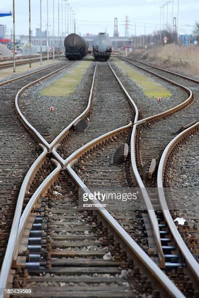 Eisenbahn-switch