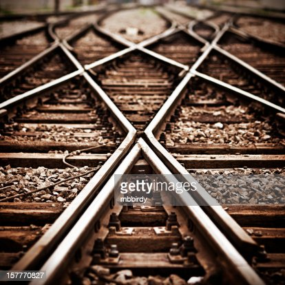 Railroad  track points