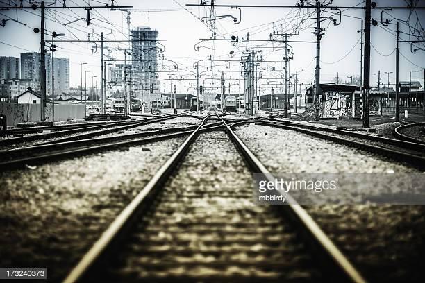 Bahngleis-Punkte