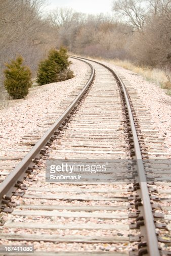 Railroad Tracks : Stockfoto