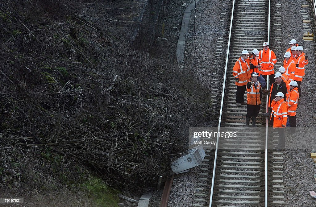 Landslide Closes London To South Wales Train Line
