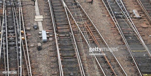 De ferrocarriles : Foto de stock