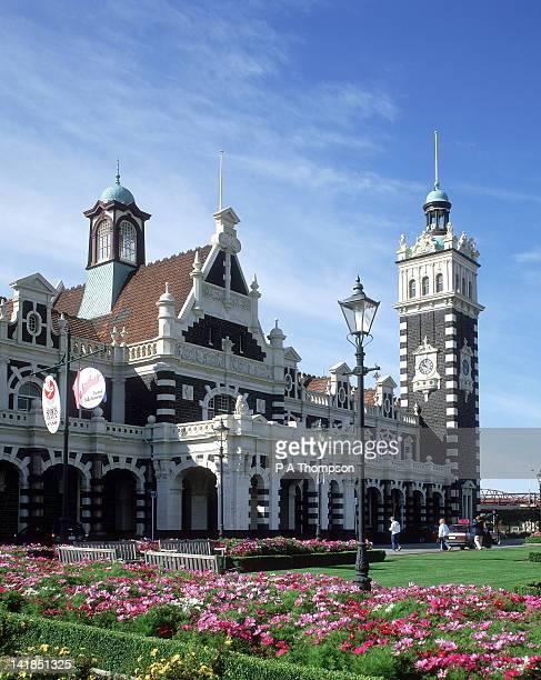 Railway Station, Dunedin, South Island, New Zealand