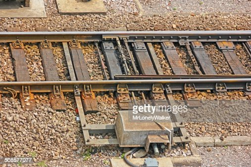 Railway Switch : Stockfoto