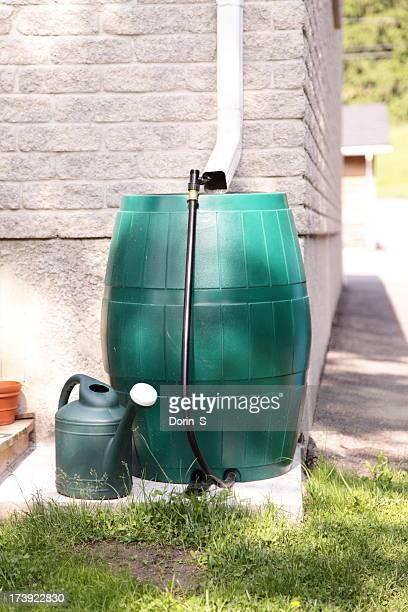 Conservación del agua de lluvia